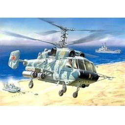 фото Сборная модель Звезда Российский вертолет огневой поддержки