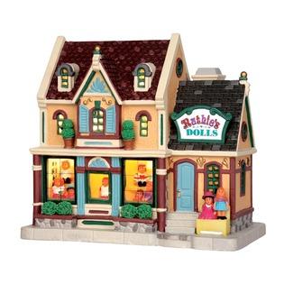 Купить Домик керамический Lemax «Магазин кукол Люси»