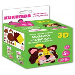 фото Мозаика KUKUMBA Собачка 3D