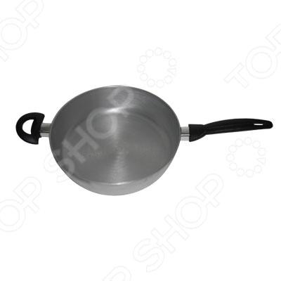 Сковорода Bohmann SMS-9528Сковороды<br>Сковорода Bohmann SMS-9528 это глубокая сковорода с высококачественным покрытием, которое идеально подходит для поджарки мяса, ведь оно не будут прилипать к поверхности. Благодаря специальному покрытию, на ней можно приготовить разнообразные блюда из мяса, рыбы, птицы и овощей практически не используя масло, при этом достаточно быстро обжаривая. Готовое блюдо получится не только вкусным, но и полезным. Попробуйте добавить к мясу овощей и потушить всё это буквально несколько минут и вы удивитесь, как сильно изменился вкус привычных продуктов. Комбинируйте продукты, используйте соусы и сыры, а главное, не забывайте посыпать готовое блюдо зеленью и вы почувствуете себя настоящим шеф-поваром!<br>