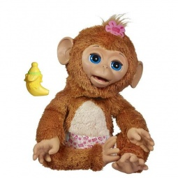 Купить Мягкая игрушка интерактивная детская FurRealFrends Обезьянка смешливая