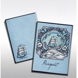 фото Обложка для паспорта Феникс-Презент «Корабль»