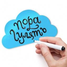 фото Магнит для записей Melompo «Облако»