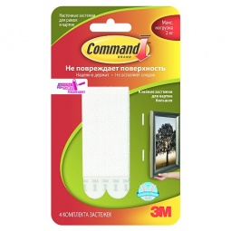 Купить Набор крепежей-липучек Command 17206