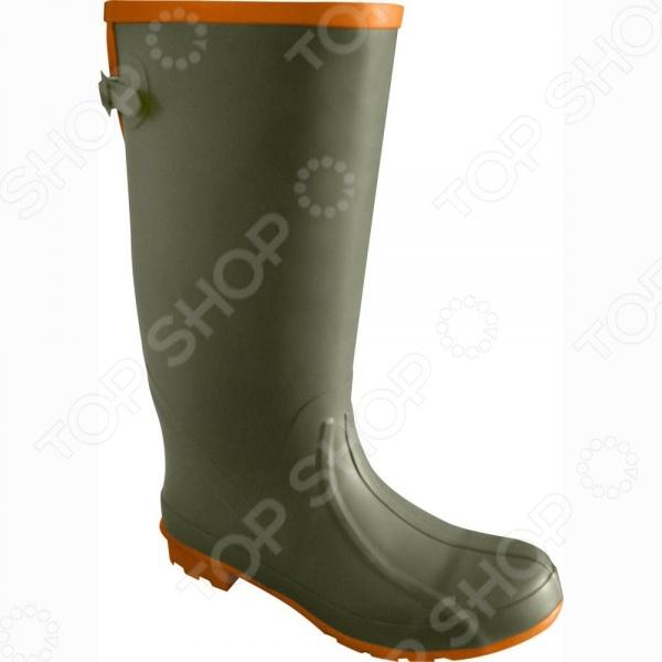 Сапоги для рыбалки NOVA TOUR Брод предназначаются для использования в любых погодных условиях. Они выполнены из водостойкой резины, поэтому способны полностью защитить своего хозяина от проникновения воды внутрь. Кроме того, для повышения удобства во время ходьбы были предусмотрены специальные утяжки, позволяющие сапогам плотно закрепиться на ноге. Изделие выполнено из водостойкой резины.