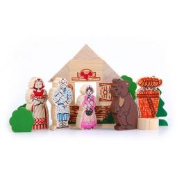 Купить Конструктор для малышей Томик «Маша и медведь»