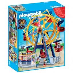 фото Конструктор игровой Playmobil «Парк Развлечений: Колесо обозрения с огнями»
