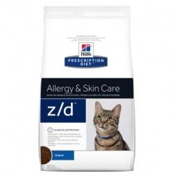 фото Корм сухой диетический для кошек Hill's Z/D Prescription Diet Feline