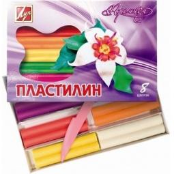 фото Набор пластилина воскового мягкого Луч «Премиум»: 8 цветов