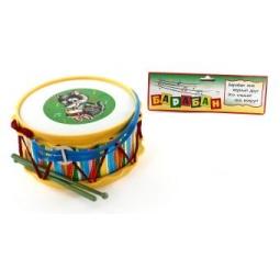 фото Барабан игрушечный ТулИгрушка с аппликацией «Друг»