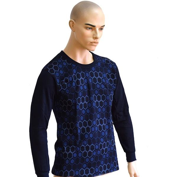 Комплект мужского термобелья Burlesco W9Мужское термобелье<br>Комплект мужского термобелья Burlesco W9 станет прекрасным дополнением вашего гардероба. Он представляет собой особый вид нижнего белья, предназначенный для сохранения тепла в холодное время года. Модель отличается современным дизайном и великолепным качеством пошива; плотно облегает ваше тело и не дает замерзнуть даже в самый лютый мороз. Термобелье выполнено из натурального хлопка, отлично зарекомендовавшего себя в пошиве одежды, благодаря прочности, воздухопроницаемости и устойчивости к истиранию.<br>