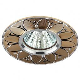 Купить Светильник встраиваемый Эра KL42 SL/GD