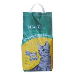 фото Наполнитель для кошачьего туалета Зверьё моё мелкие гранулы