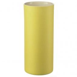 фото Ваза низкая Asa Selection Noma. Цвет: желтый