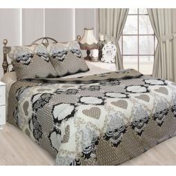 фото Комплект постельного белья Сова и Жаворонок «Франсуаза». 1,5-спальный. Размер наволочки: 70х70 см — 2 шт