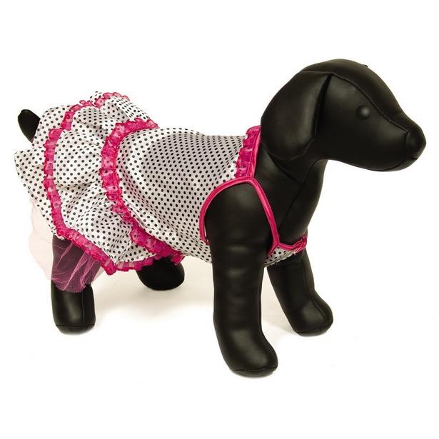 фото Платье для собак DEZZIE «Фокси». Размер: 25 см