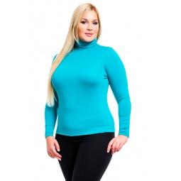 фото Водолазка Mondigo XL 046. Цвет: изумрудный. Размер одежды: 48