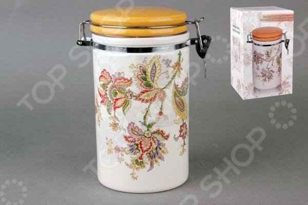 фото Банка для хранения сыпучих продуктов Коралл HC8600A-F60 «Марокканский цветок», Хранение продуктов