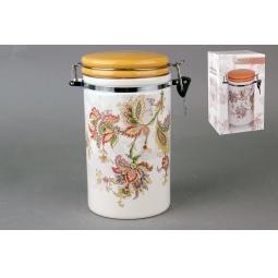 Купить Банка для хранения сыпучих продуктов Коралл HC8600A-F60 «Марокканский цветок»
