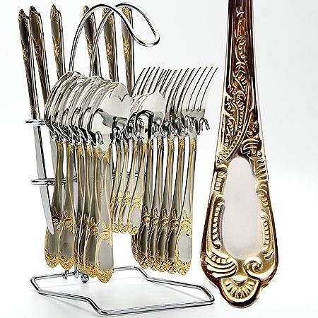 Купить Набор столовых приборов на подставке Mayer&Boch MB-23112