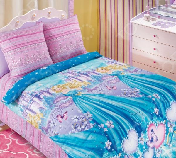 цена Детский комплект постельного белья Бамбино «Золушка» онлайн в 2017 году