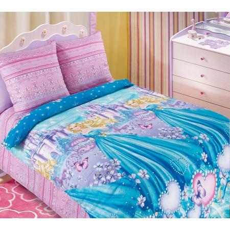 Купить Детский комплект постельного белья Бамбино «Золушка»