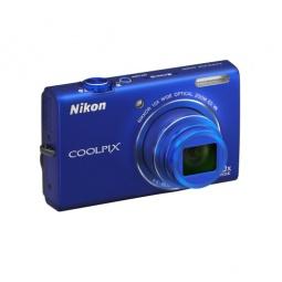 фото Фотокамера цифровая Nikon CoolPix S6200. Цвет: синий