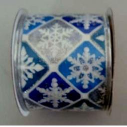 фото Лента декоративная Феникс-Презент 38906 «Снежинки»