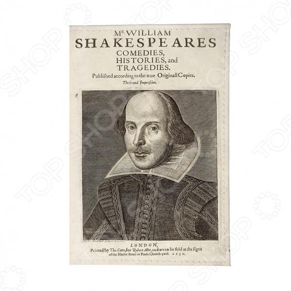 Обложка для паспорта Mitya Veselkov «Шекспир» вильям шекспир как вам это понравится много шума из ничего двенадцатая ночь перевод юрия лифшица