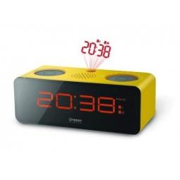 фото Проекционные часы с радиоприемником Oregon Scientific RRA320PN. Цвет: желтый