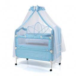 фото Кроватка-трансформер детская Geoby 05TLY900. Цвет: голубой
