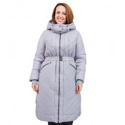 Купить Пальто D`imma «Сюита». Цвет: серый, сиреневый