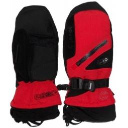 Купить Варежки GLANCE Fighter Mitten (2012-13). Цвет: черный, красный