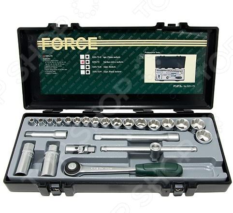 Набор с торцевыми головками Force F-3251-72
