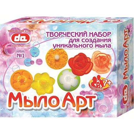 Купить Набор для изготовления мыла ДЕТИ АРТ «Мыло Арт. Цветы»