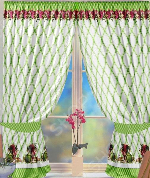 Комплект штор ТамиТекс «Фиона» свитшот print bar черепашки раф