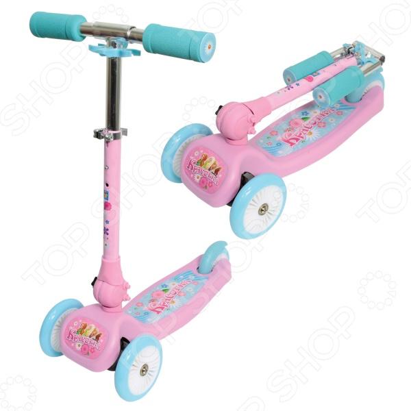 Самокат трехколесный 1 Toy Т57629 «Красотка» 1 Toy - артикул: 568869