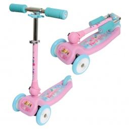 Купить Самокат трехколесный 1 Toy Т57629 «Красотка»