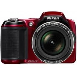 фото Фотокамера цифровая Nikon CoolPix L810. Цвет: красный