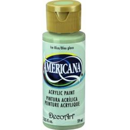 фото Краска акриловая DecoArt Премиум Americana. Цвет: холодный голубой