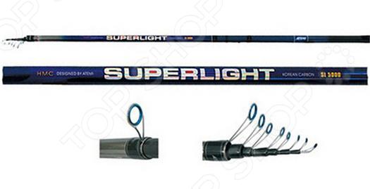 Удилище телескопическое без колец Atemi Superlight HMC