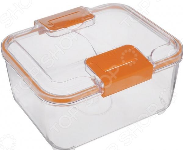 Контейнер STATUS RC40Контейнеры для продуктов и ланч-боксы<br>Контейнер STATUS RC40 это удобный контейнер, который сделан из тритана. Чаша идеально подходит для длительного хранения продуктов в холодильнике, обеспечивает отличную герметичность и плотное прилегание крышки. Прозрачный корпус позволит определить содержимое емкости, а специальная конструкция позволяет штабелировать несколько емкостей для компактного хранения. Контейнер легко моется и не впитывает запах продуктов.<br>