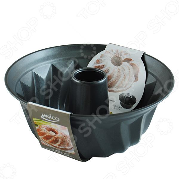 Форма для кекса Mayer&amp;amp;Boch MB-21914Металлические формы для выпечки и запекания<br>Форма для кекса Mayer Boch MB-21914 предназначена для выпекания в духовых печах. Форма изготовлена из металла экологически чистого материала, который безвреден для здоровья. Форма проста в уходе - её можно мыть в посудомоечной посуде, а материал надежно сохраняет форму и не деформируется. Фигурная округлая форма с отверстием идеально подходит для выпекания красивых кексов, тортов и пирогов. Форма для кекса позволяет равномерно пропечь выпечку. Данная форма для выпечки станет незаменимым помощников для каждой хозяйки, увлеченной кондитерским искусством.<br>