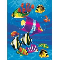 Купить Набор для рисования по номерам Dimensions «Тропическое море»