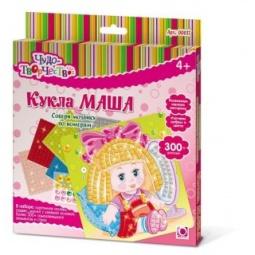 фото Мозаика по номерам Оригами «Кукла Маша»
