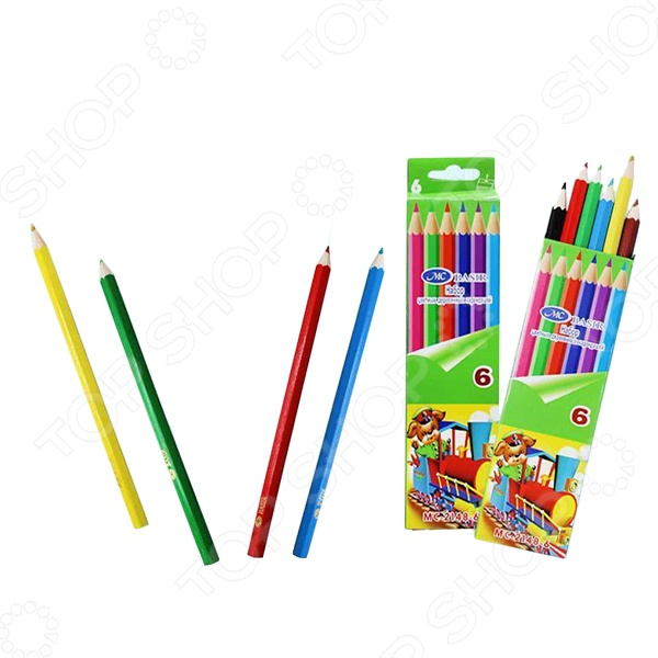 Набор карандашей цветных Miraculous МС-2148-6