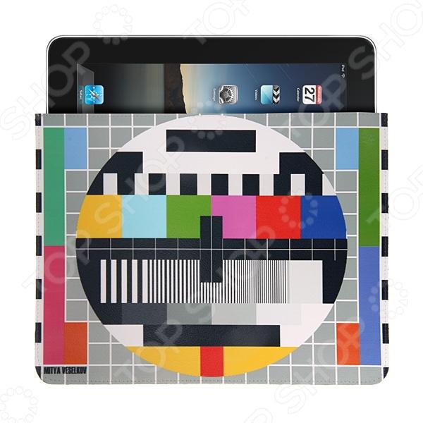 Чехол для iPad Mitya Veselkov «ТВ-сетка» стилус iphone ipad