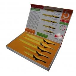 фото Набор ножей с антибактериальным покрытием Mayer&Boch MB-21489 в коробке