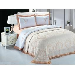 фото Комплект постельного белья с покрывалом Softline 09652. Евро