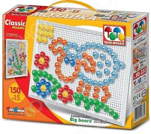 Мозаика Toys Union «На лужайке» toys union напольная мозаика рыбка 25 деталей д 58 мм toys union